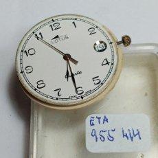 Relojes - Lotus: ETA 956 414 - MOVIMIENTO LOTUS CB. FUNCIONA CORRECTO - 2 FOTOS - (CD-0017). Lote 225328865