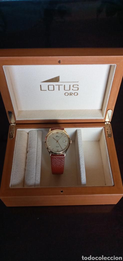 Relojes - Lotus: LOTUS ORO MACIZO. MAGNÍFICO RELOJ LUJO***PRECIOSO***ESTUCHE DE REGALO!!! - Foto 22 - 228694870