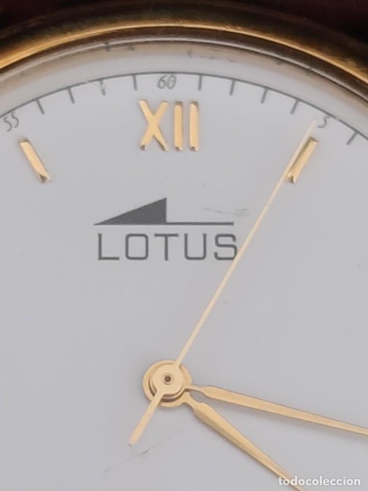 Relojes - Lotus: UNICO EN VENTA , RELOJ LOTUS MARLBORO. FUNCIONA CORRECTAMENTE - Foto 5 - 229176825
