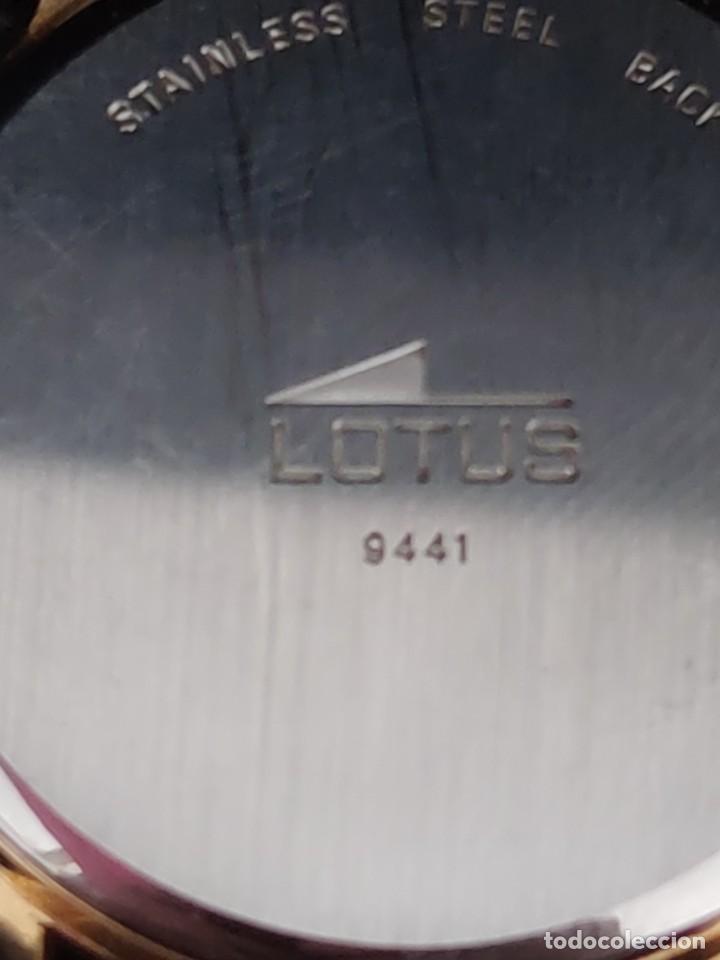 Relojes - Lotus: UNICO EN VENTA , RELOJ LOTUS MARLBORO. FUNCIONA CORRECTAMENTE - Foto 6 - 229176825