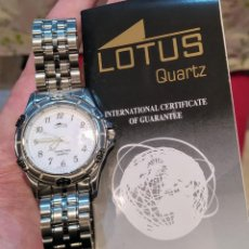 Relojes - Lotus: LOTUS QUARTZ. SUMERGIBLE HASTA 100 METROS.. Lote 230570135