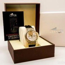 Relojes - Lotus: RELOJ LOTUS CALENDARIO PERPETUO. Lote 234395365