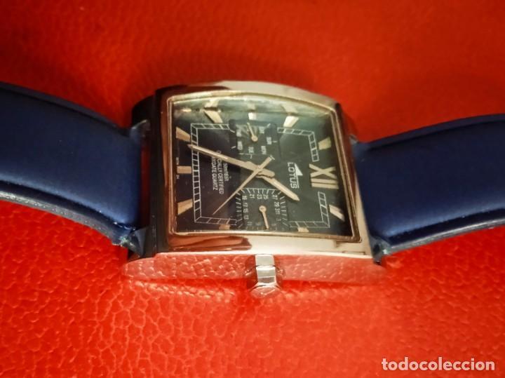 Relojes - Lotus: RELOJ LOTUS OFFICIALLY CERTIFIED DAY/DATE QUARTZ. - Foto 5 - 234550725
