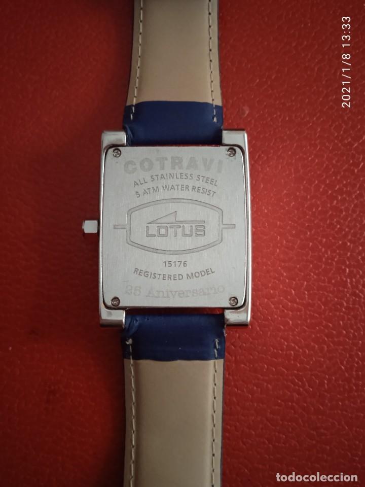 Relojes - Lotus: RELOJ LOTUS OFFICIALLY CERTIFIED DAY/DATE QUARTZ. - Foto 8 - 234550725