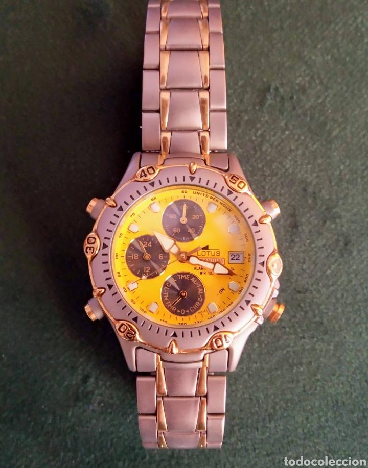 RELOJ DE TITANIO CRONO CADETE NUEVO DE STOCK L9721/2 (Relojes - Relojes Actuales - Lotus)