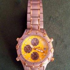Relojes - Lotus: RELOJ DE TITANIO CRONO CADETE NUEVO DE STOCK L9721/2. Lote 234658475