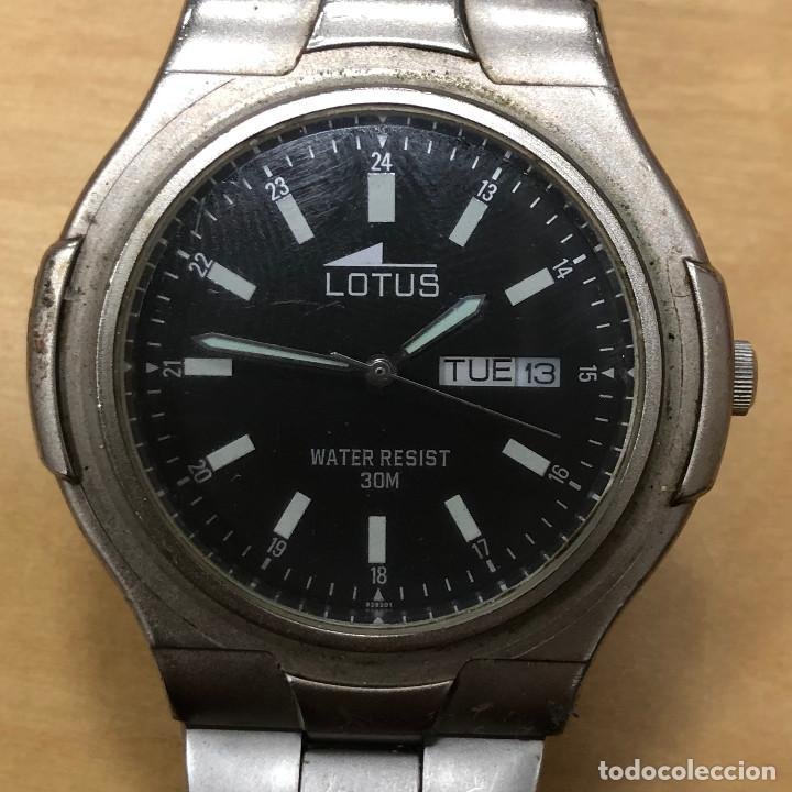 RELOJ DE PULSERA LOTUS, WATER RESIST 30 M. (Relojes - Relojes Actuales - Lotus)