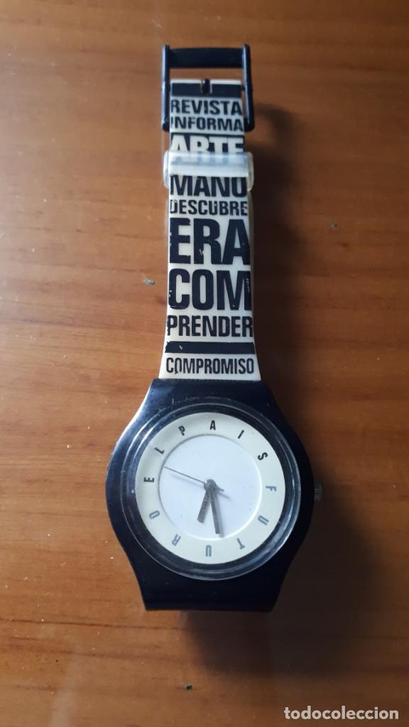 RELOJ DE PULSERA DE CABALLERO OSCAR MARINÉ PARA PERIÓDICO EL PAÍS - 2007. (Relojes - Relojes Actuales - Lotus)