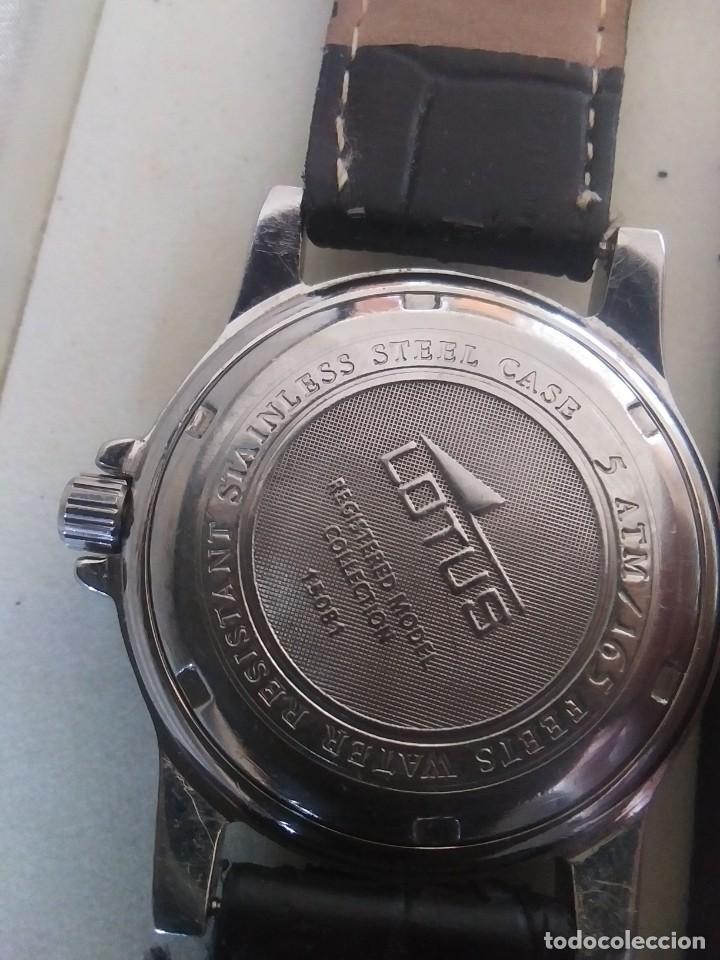 Relojes - Lotus: RELOJ LOTUS DE COLECCION - Foto 6 - 245018050