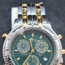 Relojes - Lotus: RELOJ CABALLERO LOTUS CUARZO CRONO, CALENDARIO, VARIAS ALARMAS, FECHA, CAJA, CORREA ACERO BICOLOR.. Lote 247684485