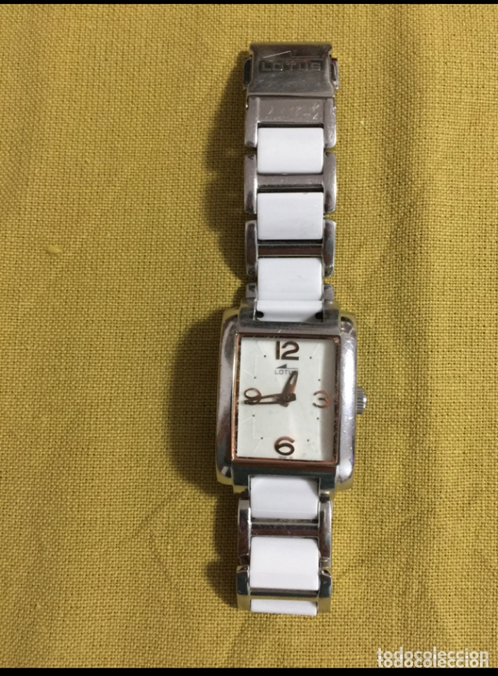 Relojes - Lotus: Reloj Lotus 15594/1 de mujer cerámico en blanco y acero. Sin pila - Foto 2 - 254214715