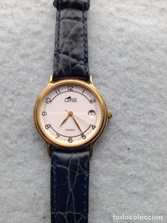 RELOJ MARCA LOTUS CUARZ DE CABALLERO. FUNCIONANDO (Relojes - Relojes Actuales - Lotus)