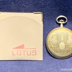 Relojes - Lotus: RELOJ BOLSILLO LOTUS QUARTZ SWISS MADE 45MM. Lote 254472575