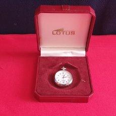 Relógios - Lotus: RELOJ DE BOLSILLO LOTUS CUARZO. HAY QUE PONER PILA TAL CUAL COMO SE VE EN FOTOS.. Lote 256132995
