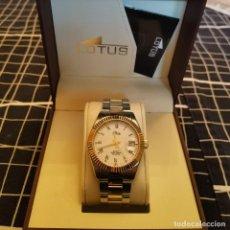 Relojes - Lotus: RELOJ LOTUS 15197/1, DE CABALLERO. QUARTZ, WATER RESIST 100 METER.. Lote 257423950