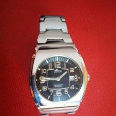 Relojes - Lotus: RELOJ LOTUS QUARTZ WATER RESISTANT CALENDARIO.. Lote 258035725