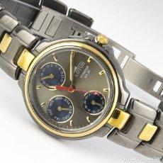 Relojes - Lotus: RELOJ LOTUS TITANIUM REFERENCIA 9664 BICOLOR: TITANIO Y CHAPADO EN ORO 18 K.. Lote 264172860