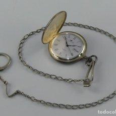 Relógios - Lotus: BONITO RELOJ DE BOLSILLO MARCA LOTUS CON CALENDARIO QUARTZ EXCELENTE DISEÑO. Lote 265127184