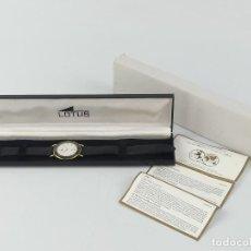 Relógios - Lotus: MAGNIFICO RELOJ DE PULSERA LOTUS QUARTZ CON CALENDARIO CON CAJA. Lote 265153154