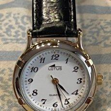 Relojes - Lotus: RELOJ LOTUS NUEVO CORREA CUERO NEGRO. Lote 267806474