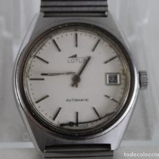 Relojes - Lotus: RELOJ DE PULSERA LOTUS AUTOMATIC INCABLOC. PARA REPARAR. Lote 269370833