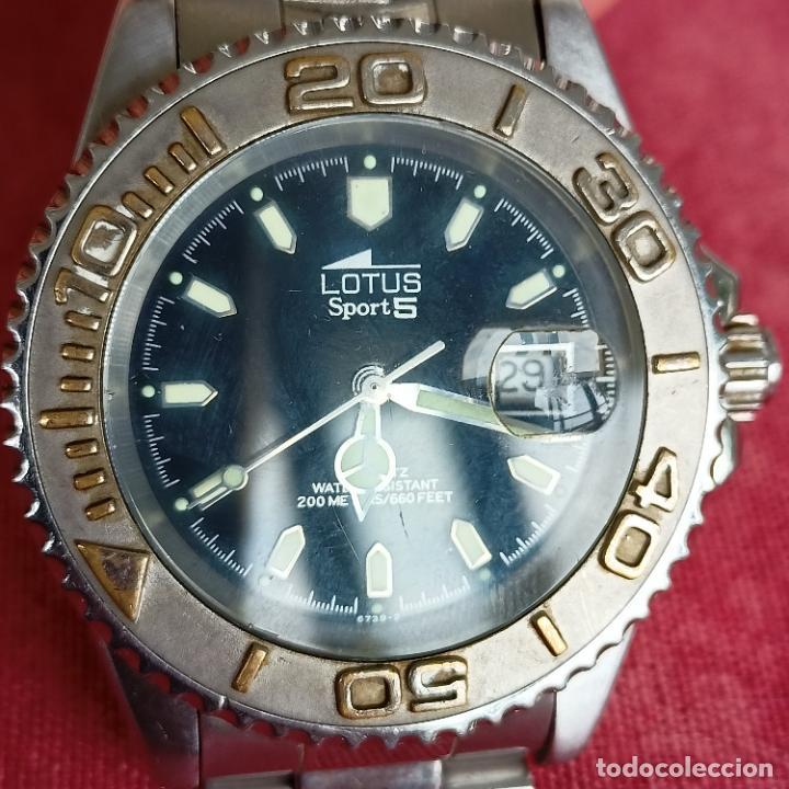 Relojes - Lotus: Reloj caballero Lotus Sport 5 funcionando - Foto 2 - 272456018