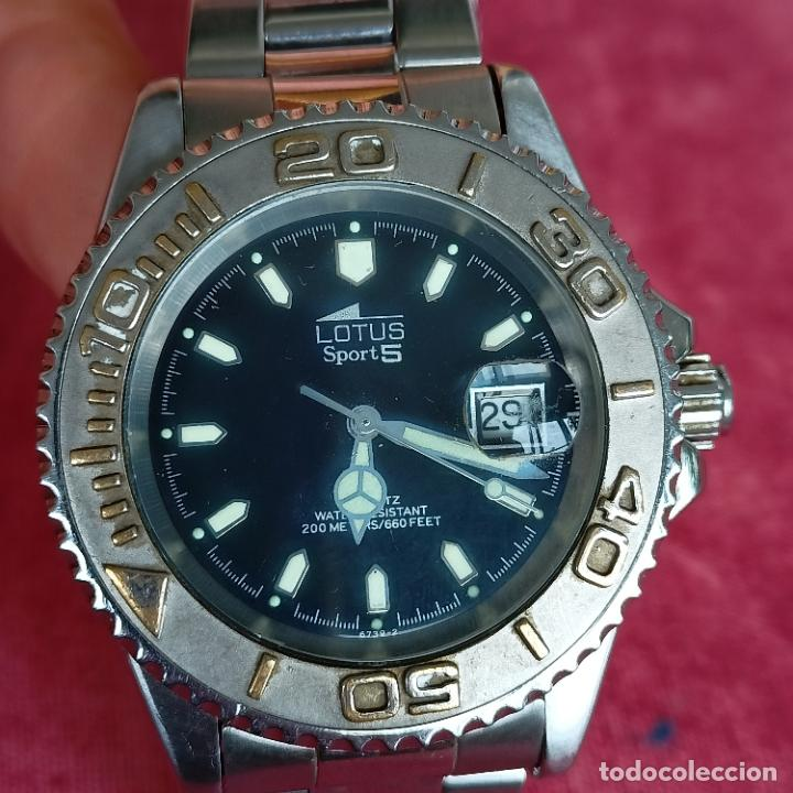 Relojes - Lotus: Reloj caballero Lotus Sport 5 funcionando - Foto 5 - 272456018