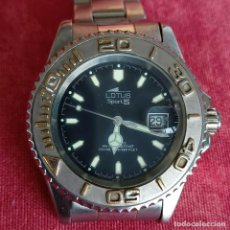 Relojes - Lotus: RELOJ CABALLERO LOTUS SPORT 5 FUNCIONANDO. Lote 272456018