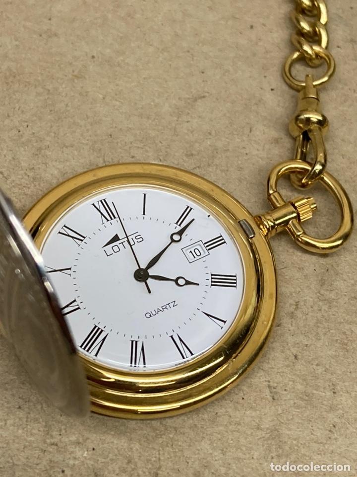 Relojes - Lotus: Reloj de bolsillo Lotus Quartz con leontina - Foto 2 - 276941198