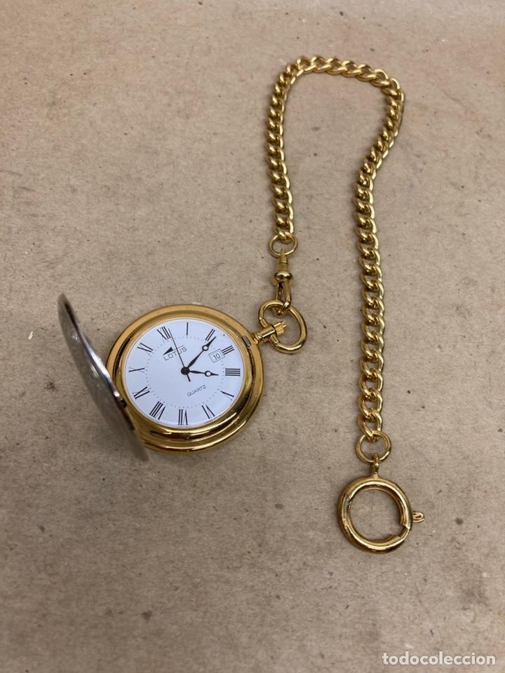 RELOJ DE BOLSILLO LOTUS QUARTZ CON LEONTINA (Relojes - Relojes Actuales - Lotus)