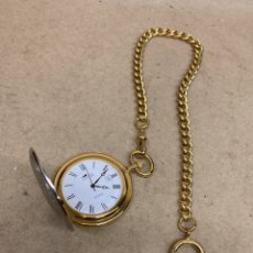 Relojes - Lotus: RELOJ DE BOLSILLO LOTUS QUARTZ CON LEONTINA. Lote 276941198