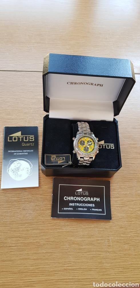 Relojes - Lotus: Reloj Lotus Cronografo,acero,a estrenar - Foto 3 - 285365998