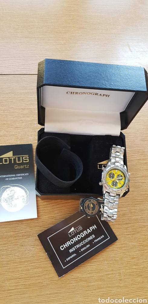 Relojes - Lotus: Reloj Lotus Cronografo,acero,a estrenar - Foto 4 - 285365998