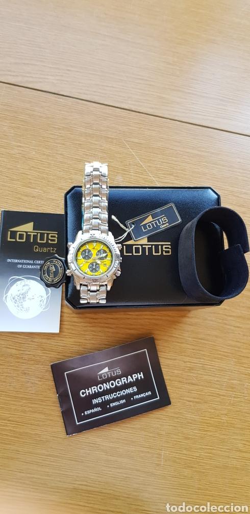 Relojes - Lotus: Reloj Lotus Cronografo,acero,a estrenar - Foto 6 - 285365998