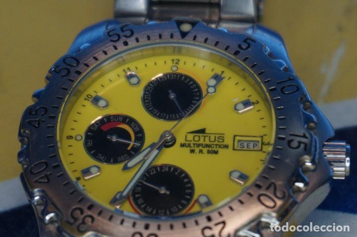 Relojes - Lotus: Reloj de pulsera Lotus Multifunción WR50M. Registered Collection 15009 - Foto 2 - 287848828