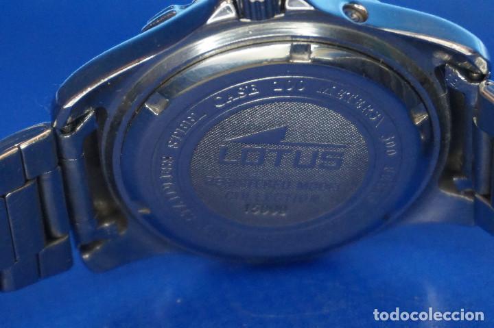Relojes - Lotus: Reloj de pulsera Lotus Multifunción WR50M. Registered Collection 15009 - Foto 3 - 287848828