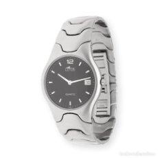Relojes - Lotus: RELOJ LOTUS D-9762/2 ACERO ESFERA NEGRA. Lote 293331283