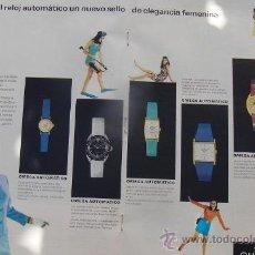 Relojes - Omega: PUBLICIDAD DE RELOJES OMEGA. 13 ANUNCIOS.. Lote 13804191