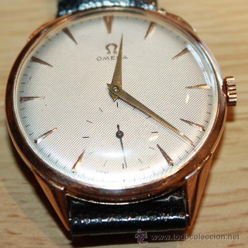 b2183895f744 Reloj Omega Oro Segunda Mano zonadragonball.es