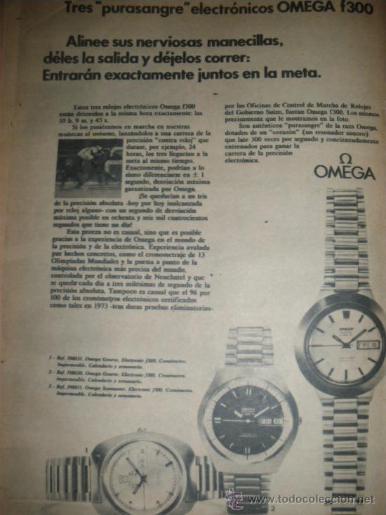 Relojes - Omega: PUBLICIDAD DE RELOJES OMEGA. 13 ANUNCIOS. - Foto 2 - 13804191