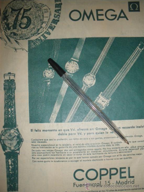 Relojes - Omega: PUBLICIDAD DE RELOJES OMEGA. 13 ANUNCIOS. - Foto 3 - 13804191