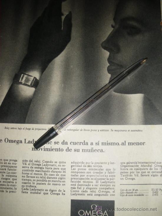 Relojes - Omega: PUBLICIDAD DE RELOJES OMEGA. 13 ANUNCIOS. - Foto 5 - 13804191
