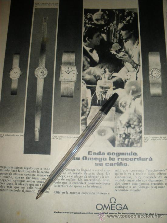 Relojes - Omega: PUBLICIDAD DE RELOJES OMEGA. 13 ANUNCIOS. - Foto 6 - 13804191