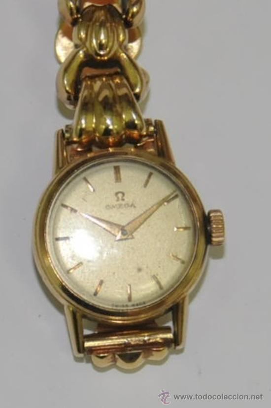 Relojes de mujer de oro omega