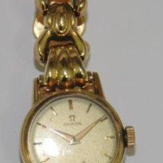 Relojes - Omega: RELOJ OMEGA DE ORO 18 KILATES PARA SEÑORA. Lote 40513442