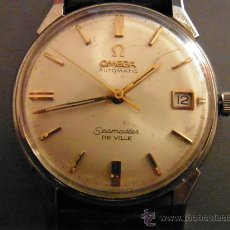 Relojes - Omega: OMEGA SEAMASTER DE VILLE CAJA DE ACERO. Lote 34976303