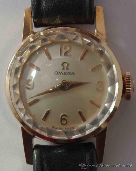 RELOJ OMEGA MUJER CAJA DE ORO DE 18 QUILATES.- OMEGA WATCH WOMEN GOLD BOX 18 CARAT. (Relojes - Relojes Actuales - Omega)