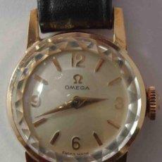 Relojes - Omega: RELOJ OMEGA MUJER CAJA DE ORO DE 18 QUILATES.- OMEGA WATCH WOMEN GOLD BOX 18 CARAT.. Lote 37918263