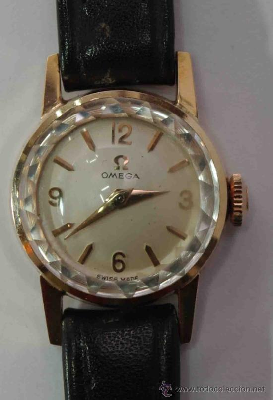 Relojes - Omega: RELOJ OMEGA MUJER CAJA DE ORO DE 18 QUILATES.- OMEGA WATCH WOMEN GOLD BOX 18 Carat. - Foto 5 - 37918263