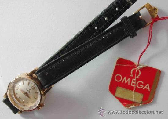 Relojes - Omega: RELOJ OMEGA MUJER CAJA DE ORO DE 18 QUILATES.- OMEGA WATCH WOMEN GOLD BOX 18 Carat. - Foto 4 - 37918263